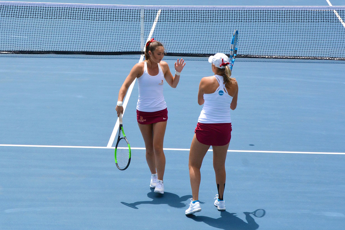 Athena doubles team