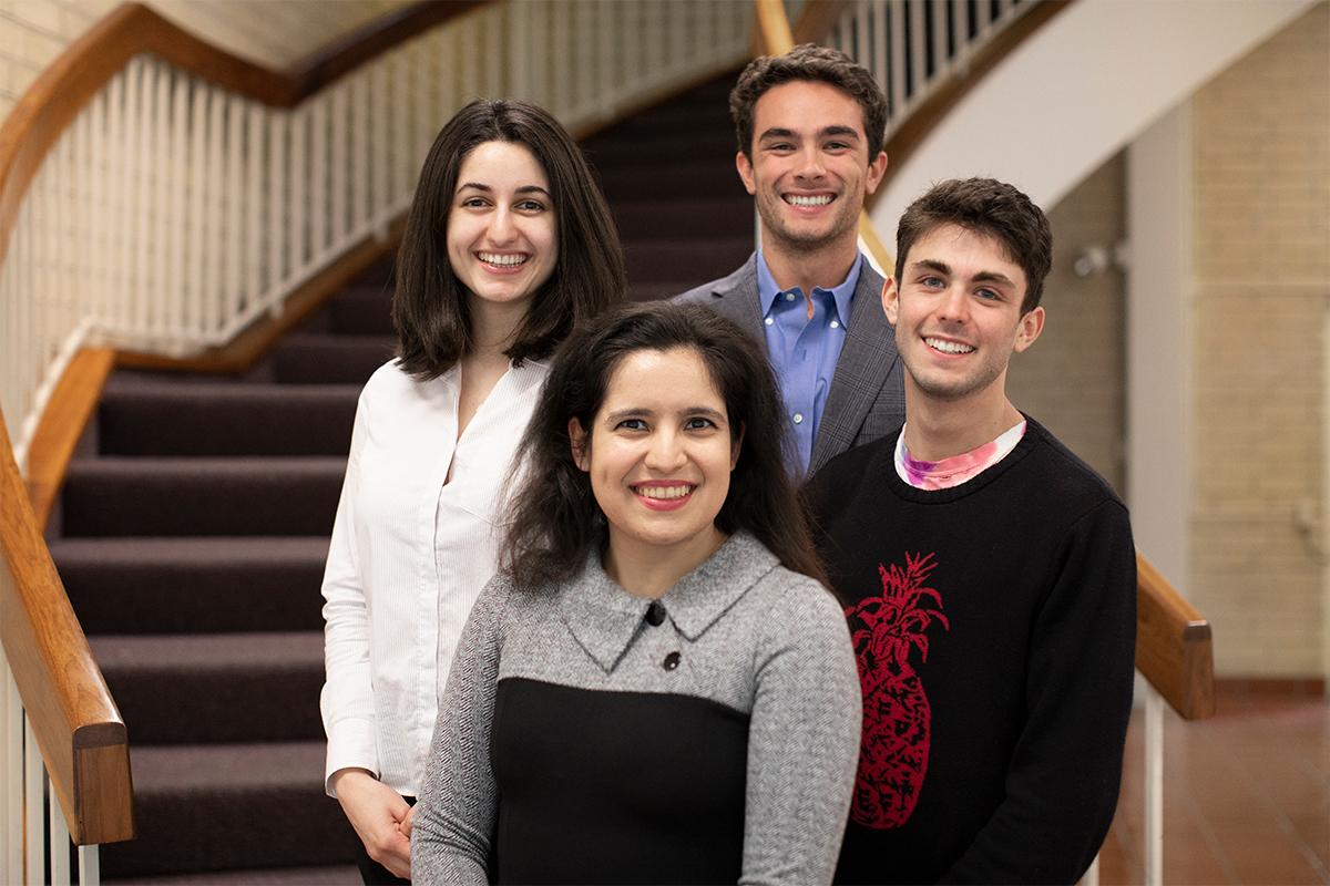 CMC Fulbright scholars