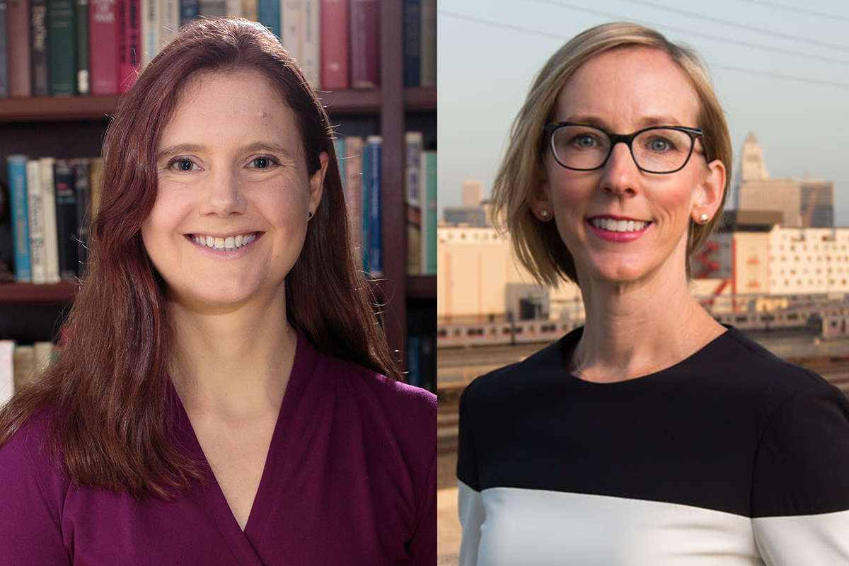 Mary Evans and Branwen Williams team up on new ways to address climate change