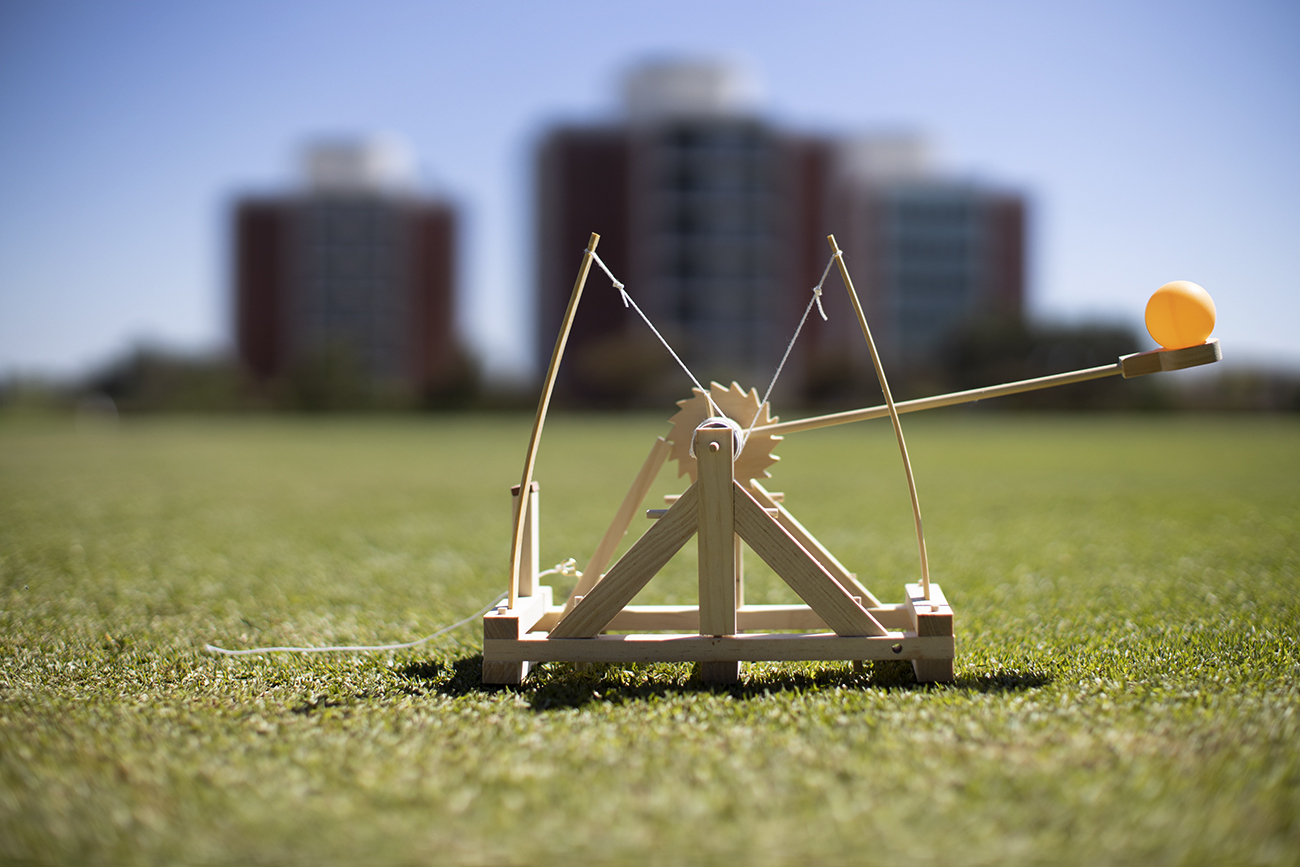 Janet Sheung is ready to launch virtual learning with at-home catapults