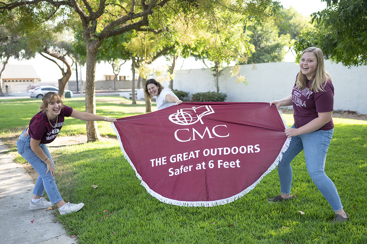CMC students receive a welcome surprise
