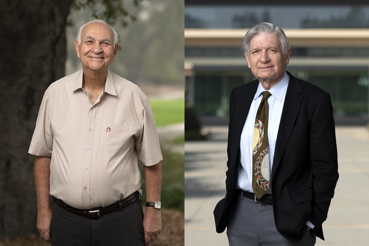 Two Professors Celebrate 40 Years at CMC