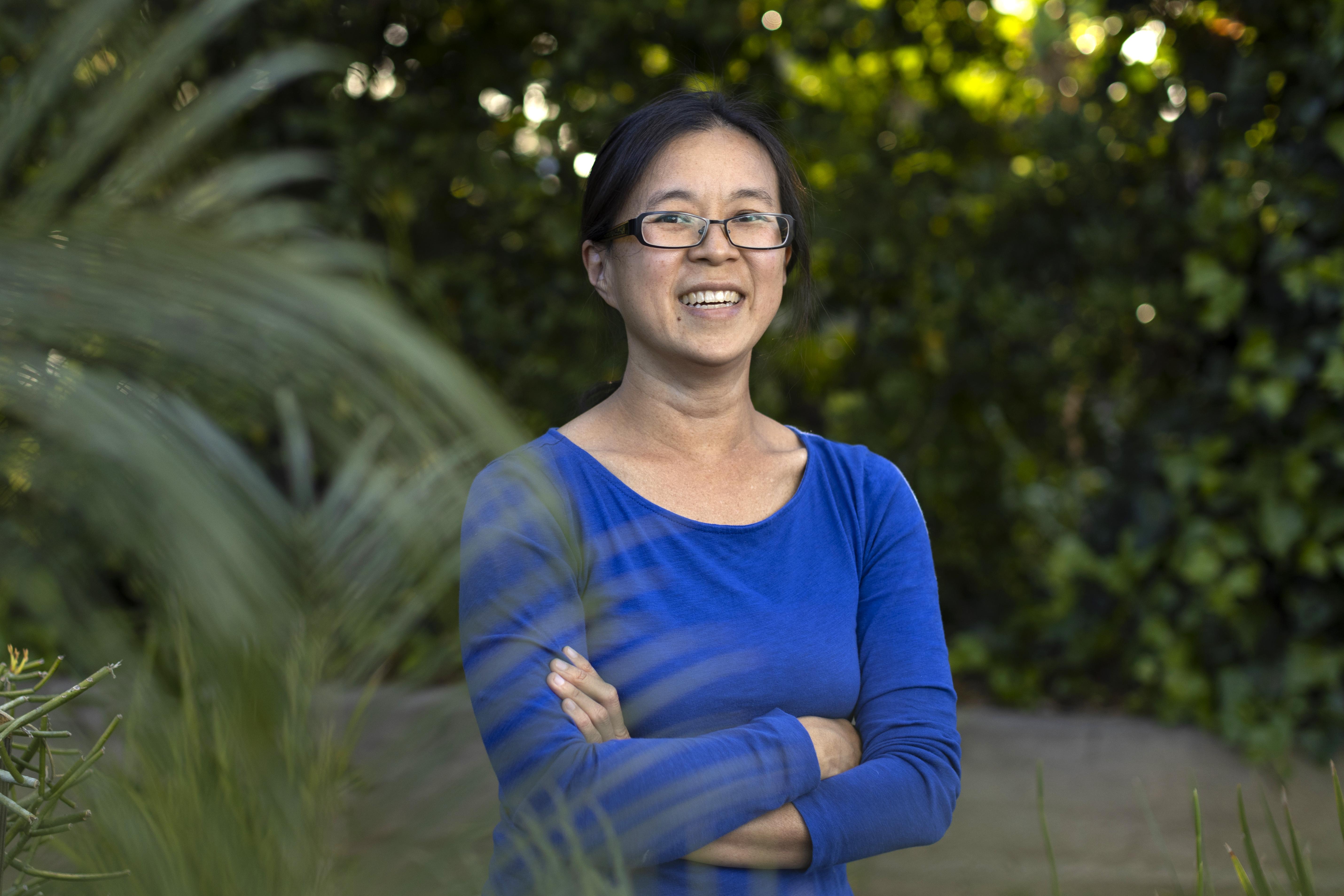 Portrait of CMC Mathematics Prof. Helen Wong