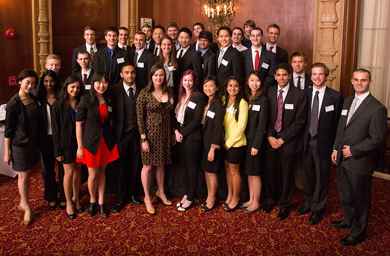 Class of 2015 Robert Day Scholars