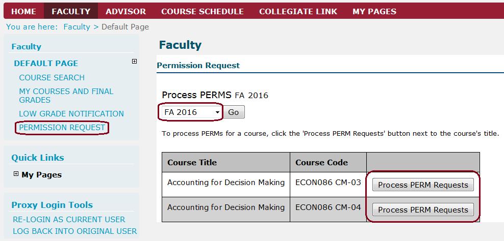 Faculty Portal Instructions   Claremont McKenna College