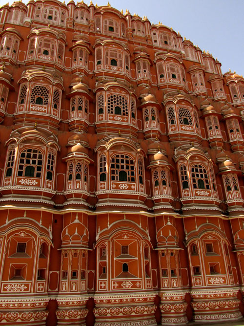 Ornate Building in India