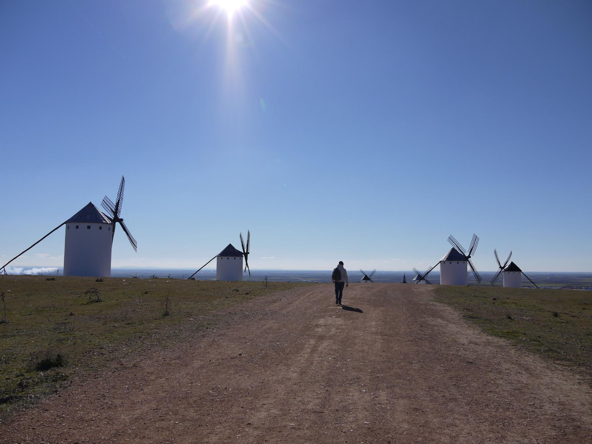 Windmills of Don Quixote