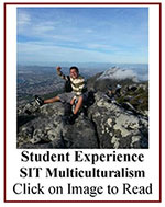 Click on image to read more about SIT Multicuralism