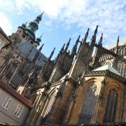 St Vitus Cathedral in Prague