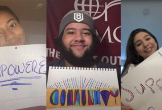 CMC students win QuestBridge Spirit Day Award