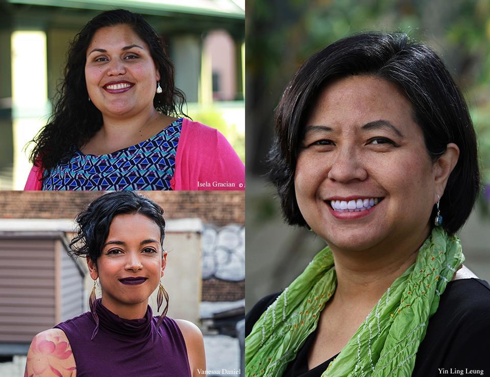 Vanessa Daniel, Isela Gracian, and Yin Ling Leung, panelists