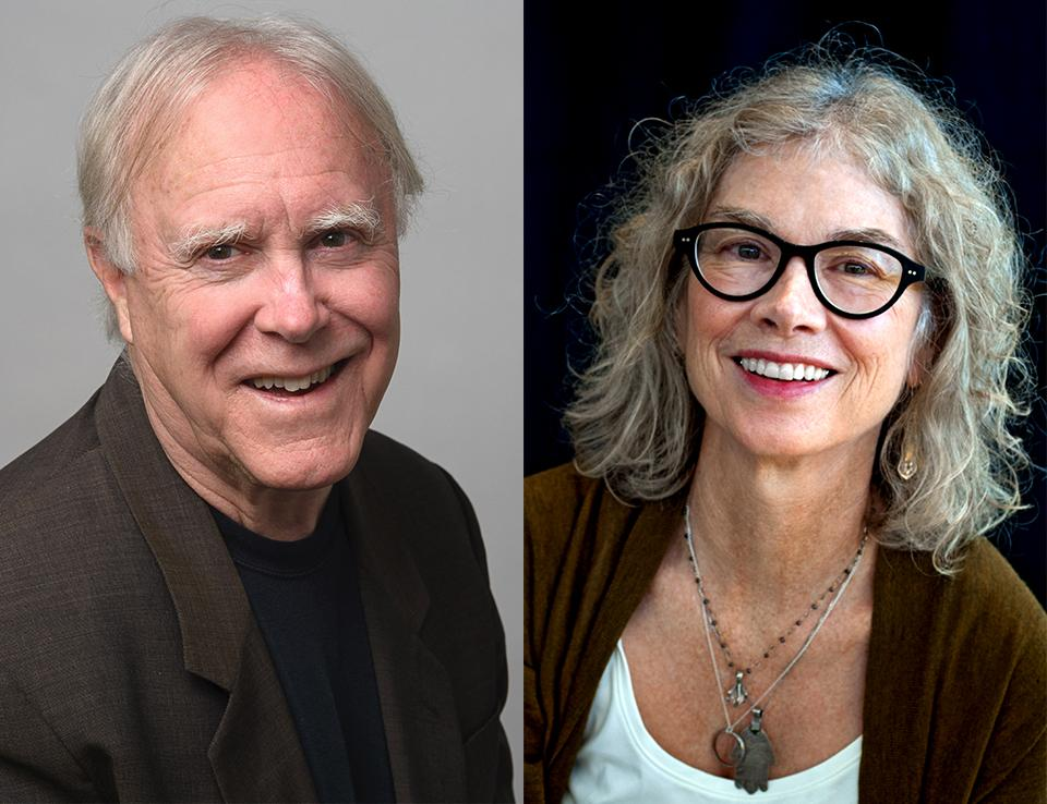 Robert Hass and Brenda Hillman