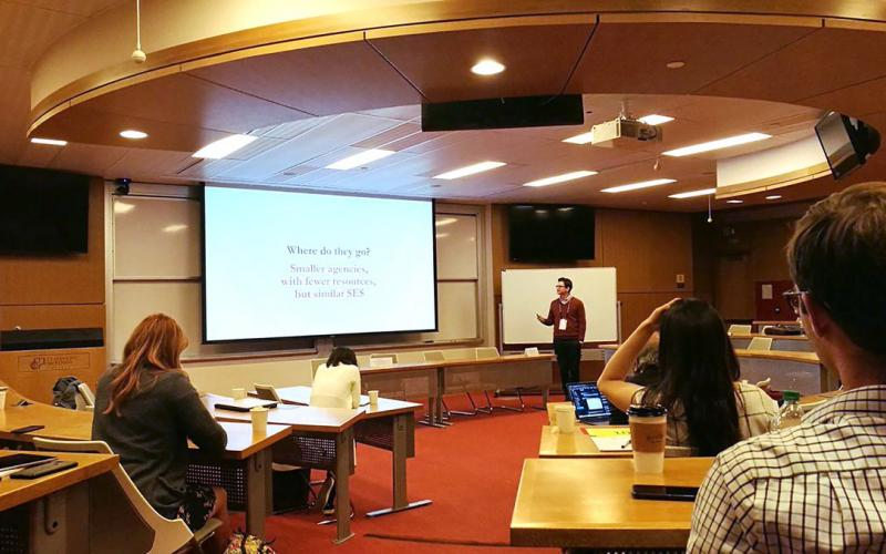 Picture of Conference on Empirical Legal Studies (CELS) at Claremont McKenna College