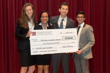 Robert Day School Case Competition winners