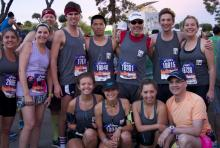 LA Marathon group