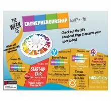 Entrepreneurship week schedule