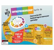 Entrepreneurship week schedule
