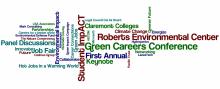Green Careers word art