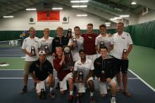 CMS tennis team