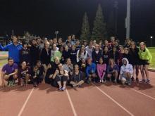 LA Marathon group
