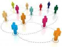 Networking illustration