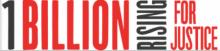 1 Billion Rising logo