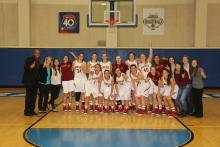 Women's Basketball, CMS, Athenas, NCAA, Conference Champions