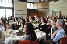A GATHERING OF THE 7-Cs: The Women and Leadership Alliance's most recent workshop brought together students from across The Claremont Colleges.