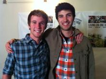 Chris Temple and Zach Ingrasci