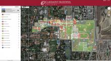 Claremont McKenna Map overview
