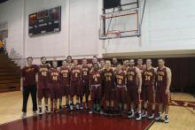 CMS - 2015 SCIAC Men's Basketball Postseason Tournament Champions