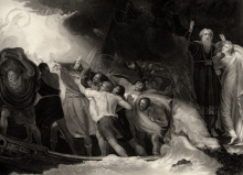 "BREAKING STORMS OF THOUGHT: Opening scene from Shakespeare's ""The Tempest,"" which opens a new literary study by Seth Lobis."
