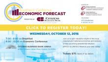 Economic Forecast Conference flyer