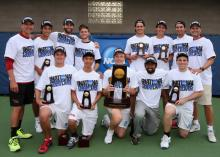 2015 NCAA D-III National Champions - CMS Men's Tennis