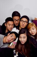 Alex Hwang '08, Daniel Chae, John Chong, Jennifer Rim, Sally Kang and Joe Chun