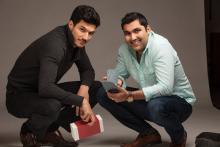 Shamil Hargovan '10 and Louis-Victor (LV) Jadavji '15