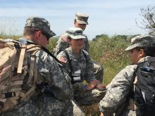 ROTC training takes place at Camp Pendleton