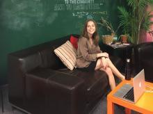 Jennifer Gurev '20 at her internship
