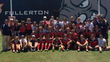 Claremont Foxes women's rugby team picture.