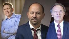 Profs. Ken Miller, Jon Shields, and Jack Pitney