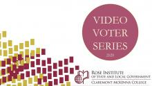 Rose Institute Video Voter Series 2020 logo