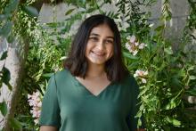Portrait of Elena Castellanos '21, a Luce Scholar with the Henry Luce Foundation