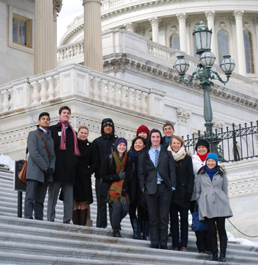 Washington Program students